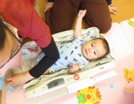 身体測定・看護師相談会・1月のお誕生会