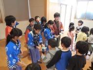宮浦小学校4年生のみなさんによる大黒舞